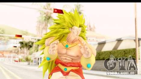 Dragon Ball Xenoverse Broly SSJ3 para GTA San Andreas