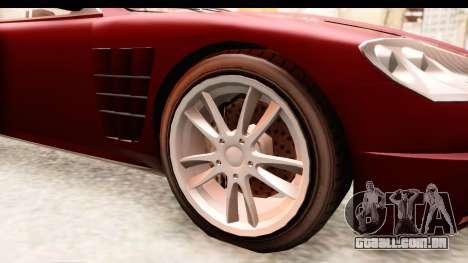 GTA EFLC TBoGT F620 v2 IVF para GTA San Andreas vista traseira