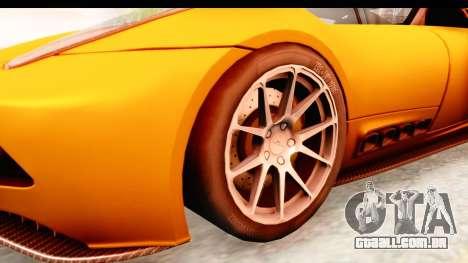 Lucra L148 2016 para GTA San Andreas vista traseira
