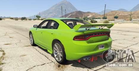 GTA 5 Dodge Charger LD 2015 vista lateral esquerda