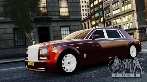 Rolls-Royce Phantom EWB 2013 para GTA 4 vista de volta