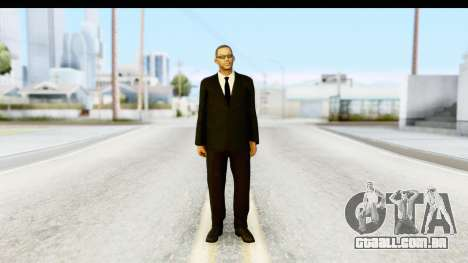 Will Smith MIB para GTA San Andreas segunda tela