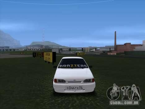2115 para GTA San Andreas esquerda vista