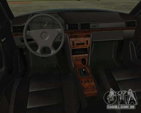 Mersedes-Benz E-500 Armenian para GTA San Andreas vista direita