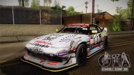 D1GP Nissan 180SX BWest Origin Labo para GTA San Andreas
