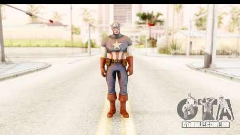 Marvel: Ultimate Alliance 2 - Captain America para GTA San Andreas segunda tela