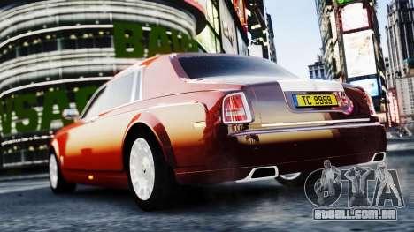 Rolls-Royce Phantom EWB 2013 para GTA 4 esquerda vista