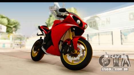 Yamaha R1 2014 para GTA San Andreas