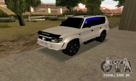 Toyota Land Cruiser 95 para GTA San Andreas