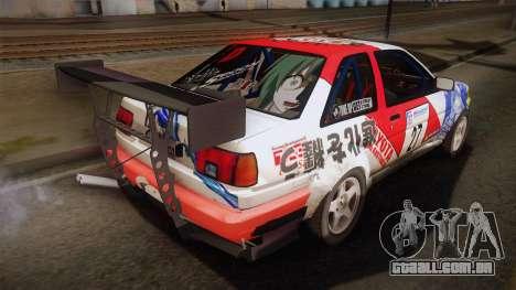 Toyota AE86 2 Door Levin para GTA San Andreas esquerda vista