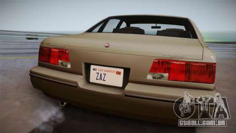 Declasse Premier 1992 SA Style para GTA San Andreas vista direita