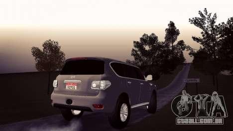 Nissan Patrol para GTA San Andreas esquerda vista