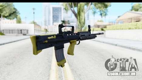 L85 para GTA San Andreas segunda tela