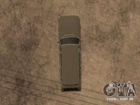 GÁS 31022 para GTA San Andreas vista interior