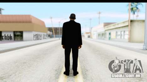 Will Smith MIB para GTA San Andreas terceira tela