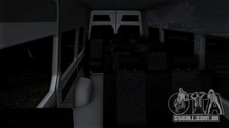 Mercedes-Benz Sprinter para o motor de GTA San Andreas