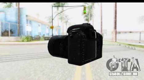Nikon D600 para GTA San Andreas segunda tela