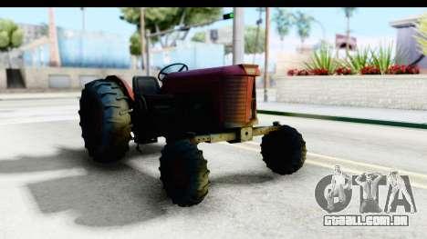 Fireflys Tractor para GTA San Andreas vista direita