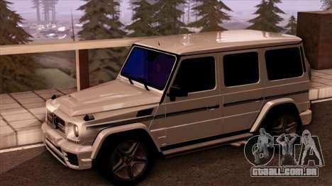 Mercedes-Benz G65 para GTA San Andreas vista direita
