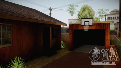 New Big Smoke House para GTA San Andreas terceira tela