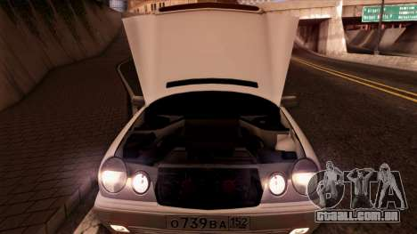 Mercedes-Benz E420 para vista lateral GTA San Andreas