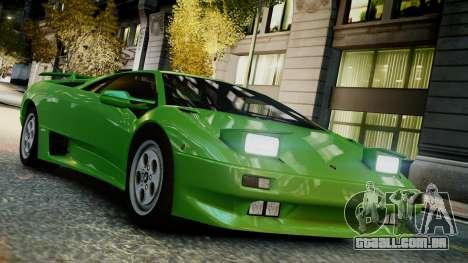 Lamborghini Diablo VT 1990 para GTA 4 vista direita
