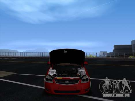 VAZ 2170 STANCE para GTA San Andreas vista interior