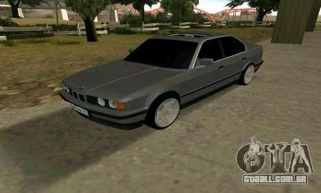 BMW 535i e34 para GTA San Andreas vista direita
