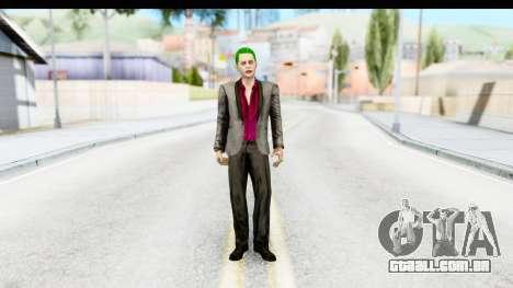 Suicide Squad - Joker v2 para GTA San Andreas segunda tela
