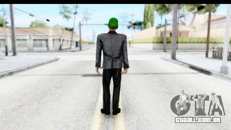 Suicide Squad - Joker v2 para GTA San Andreas terceira tela