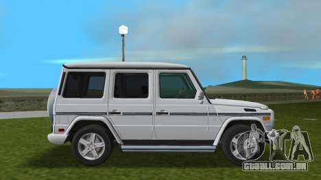 Mercedes-Benz G500 W463 2008 para GTA Vice City vista traseira