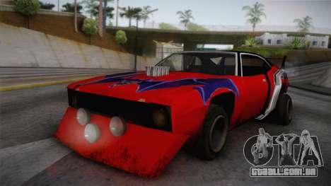 Ford Falcon 1972 Red Bat para GTA San Andreas
