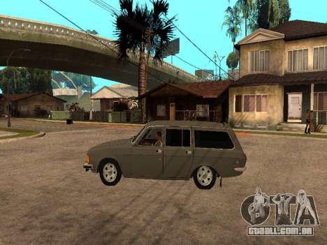 GÁS 31022 para GTA San Andreas traseira esquerda vista