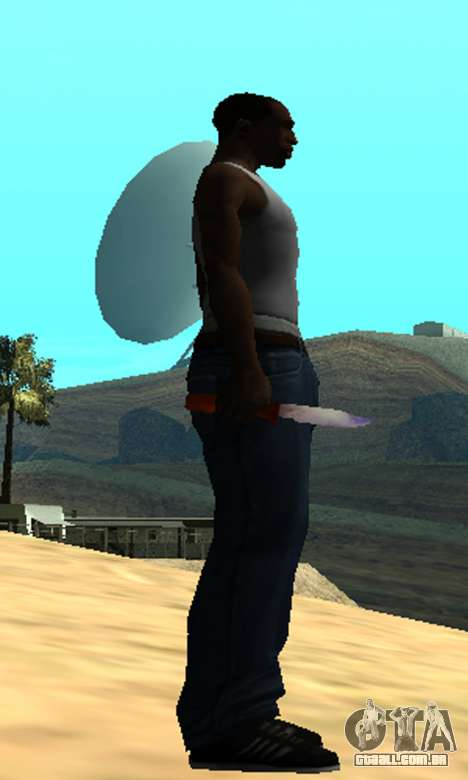 Common Knife para GTA San Andreas terceira tela