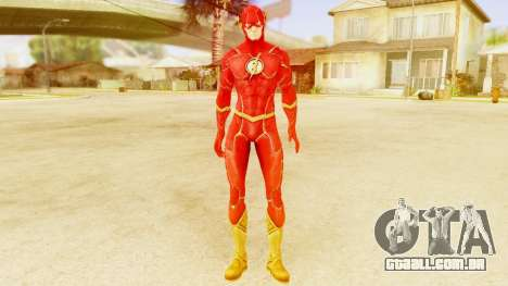 Injustice God Among Us Flash New 52 Edited Model para GTA San Andreas segunda tela