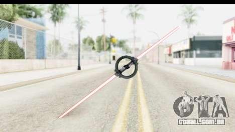 Inquisitor Lightsaber v3 para GTA San Andreas segunda tela