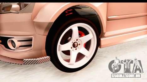 Audi S3 Slaam para GTA San Andreas vista traseira