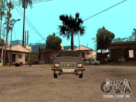 GÁS 31022 para GTA San Andreas esquerda vista
