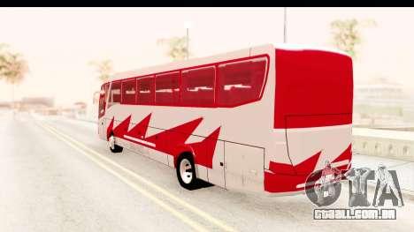 Smaga Bus para GTA San Andreas esquerda vista