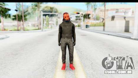 Skin Random 4 from GTA 5 Online para GTA San Andreas segunda tela