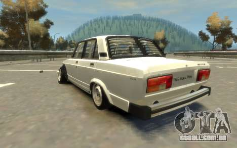 VAZ 2105 Drift (Paul Black prod.) para GTA 4 esquerda vista