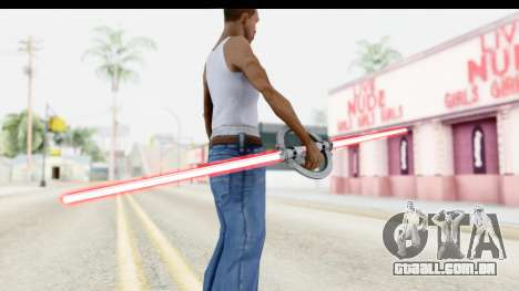 Inquisitor Lightsaber v1 para GTA San Andreas terceira tela