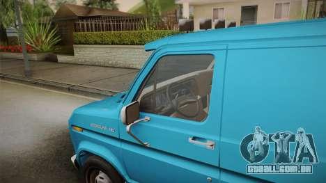 Ford E-150 Commercial Van 1982 2.0 para GTA San Andreas traseira esquerda vista