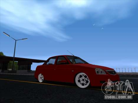 VAZ 2170 STANCE para GTA San Andreas esquerda vista
