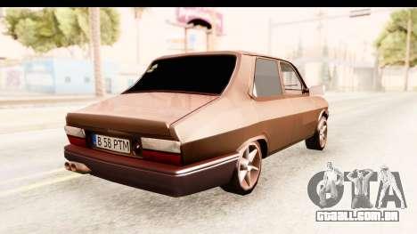 Dacia 1310 PTM para GTA San Andreas traseira esquerda vista