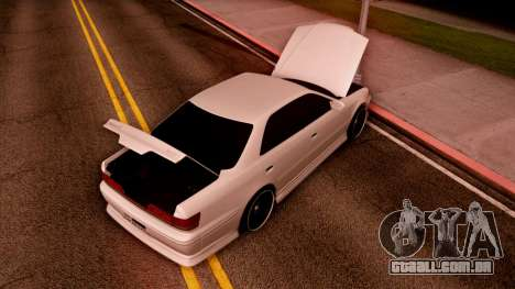 Toyota Mark II para GTA San Andreas vista direita