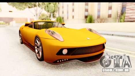 Lucra L148 2016 para GTA San Andreas traseira esquerda vista