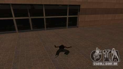 A imortalidade CJ para GTA San Andreas terceira tela