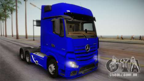 Mercedes-Benz Actros Mp4 6x4 v2.0 Gigaspace para GTA San Andreas