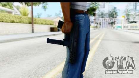 CS:GO - Tec-9 para GTA San Andreas terceira tela